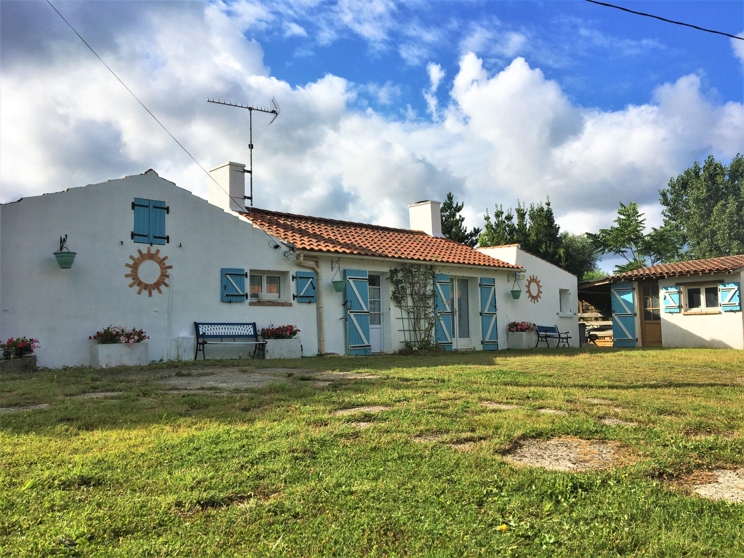 Le Perrier – Maison 3 chambres et garage sur 1500 m2 de terrain