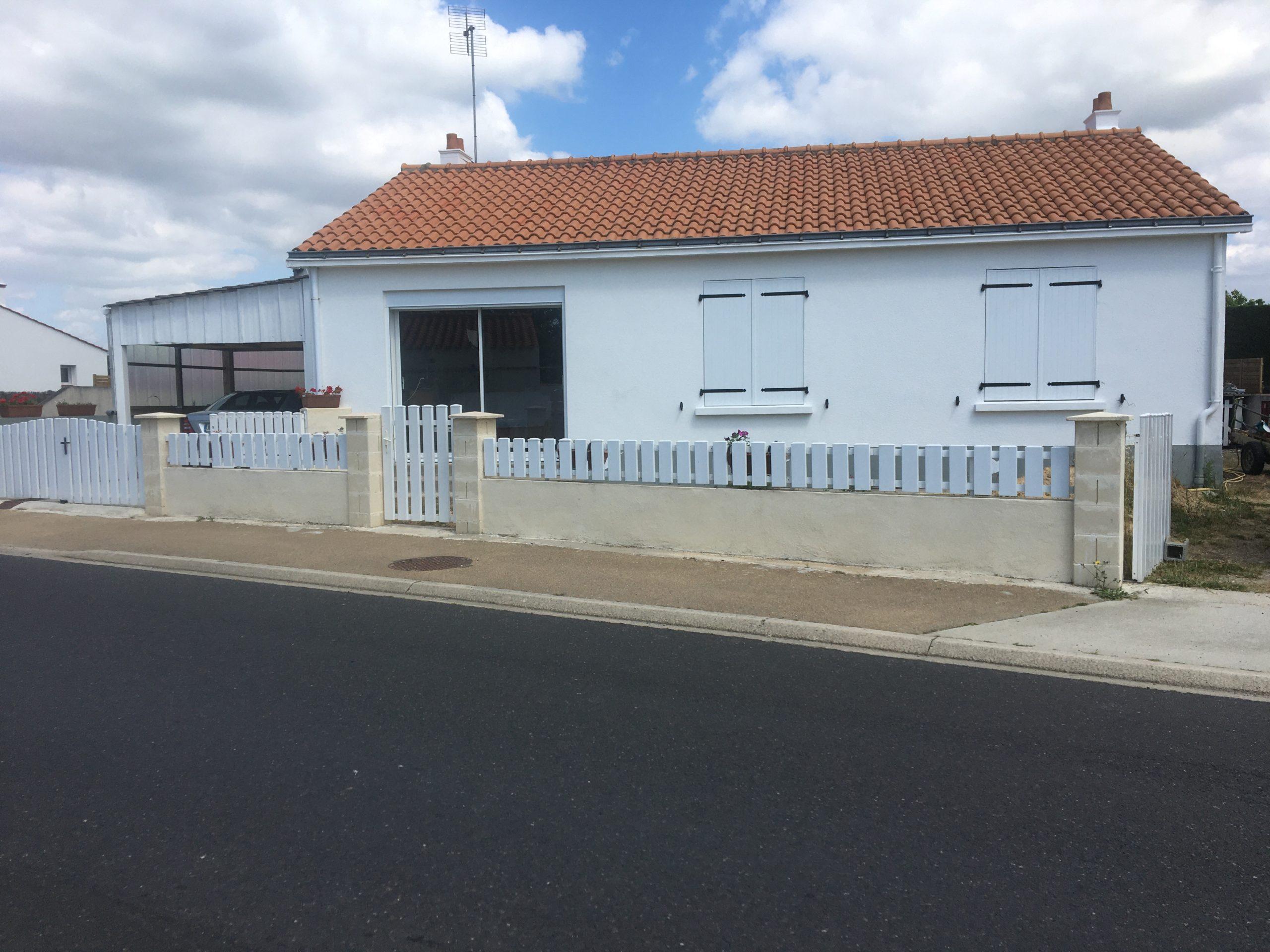 Saint Urbain – Centre bourg – Maison 4 pièces